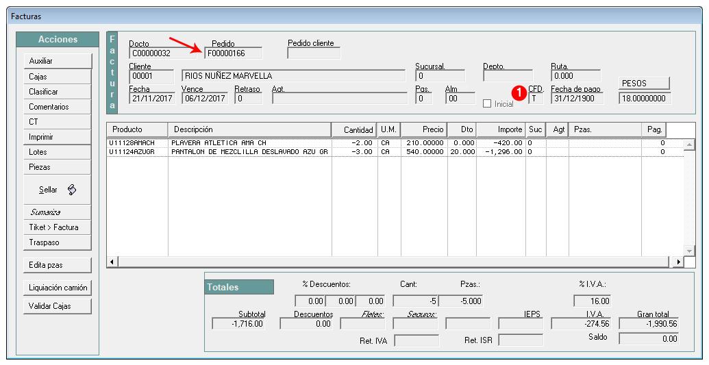 3 cfdi 3 3 ejemplos de factura y nota de crédito proscai